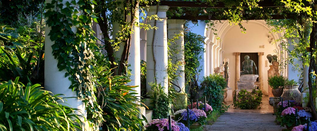Hotel in anacapri capri italy caesar augustus for Capri villa
