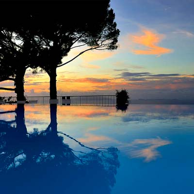Infinity pool Island of Capri