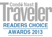 Condé Nast Traveler Top 100 Hotels 2013
