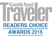 Condé Nast Traveler #3 Best Hotel in Italy 2016