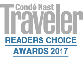 Condé Nast Traveler #3 Best Hotel in Italy 2017