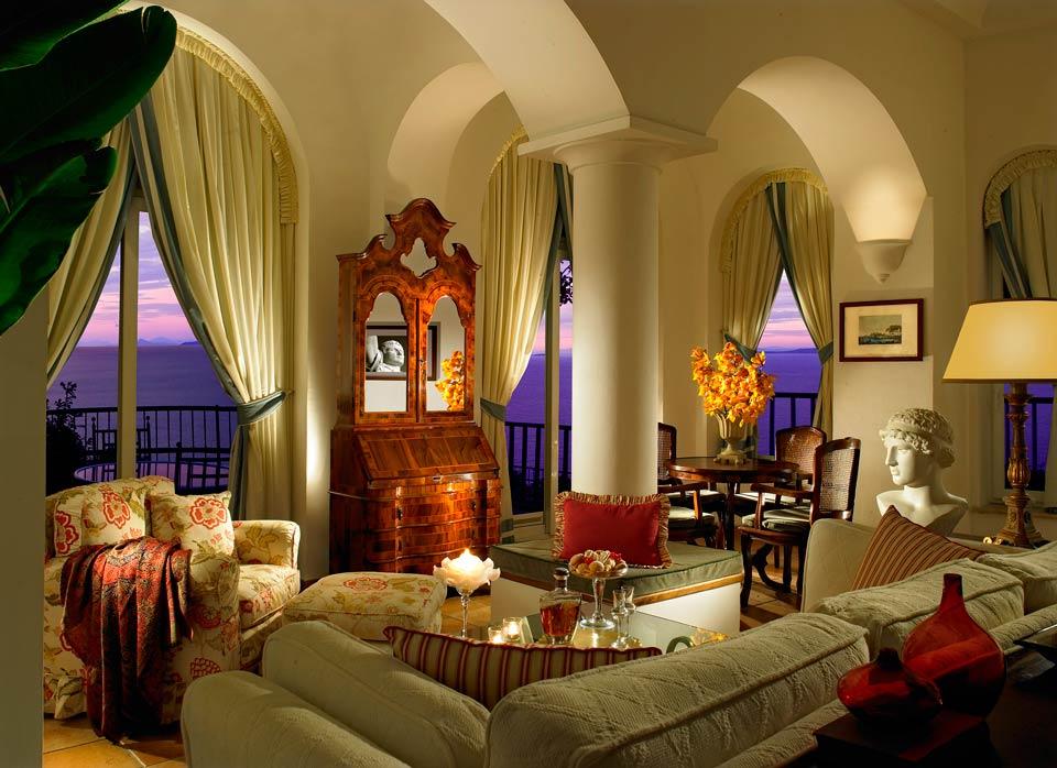 Suites Amp Penthouses On Capri Italy Caesar Augustus