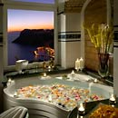 Suite with panoramic hydromassage bath Capri Italy