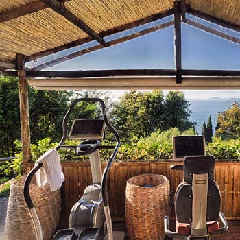 Wellness on the island of Capri, Italy - Hotel Caesar Augustus