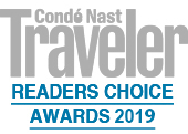 Condé Nast Traveler #3 Best Hotel in Italy 2019